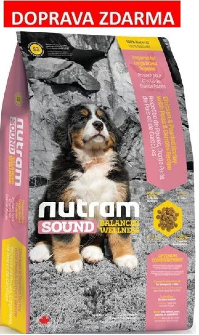 Nutram Sound Puppy Large Breed 13,6 kg - DOPRAVA ZDARMA