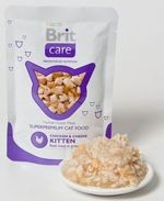 BRIT CARE cat kapsa 80g KITTEN