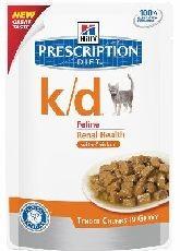 Hills cat k/d kapsa/chicken 85g