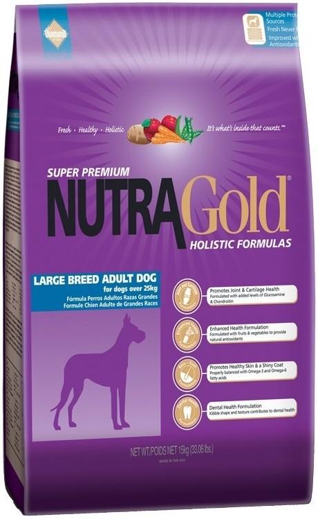 NUTRA GOLD ADULT large 15kg - DOPRAVA ZDARMA