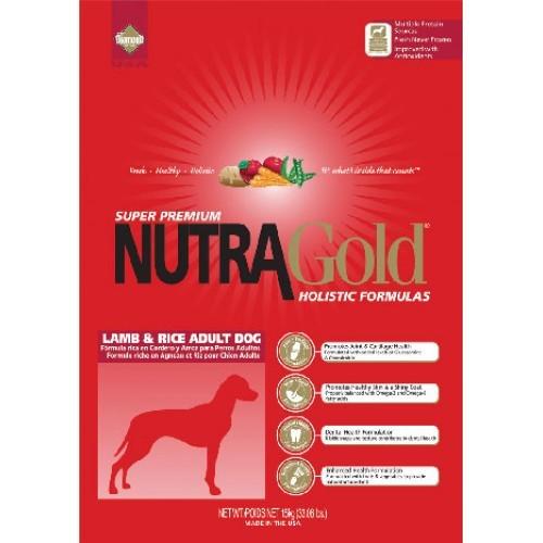 NUTRA GOLD ADULT lamb/rice 15kg - DOPRAVA ZDARMA