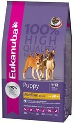 EUKANUBA PUPPY/JUNIOR MEDIUM 15kg
