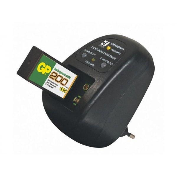 Nabíječka pro 9V baterie MW 6288GS