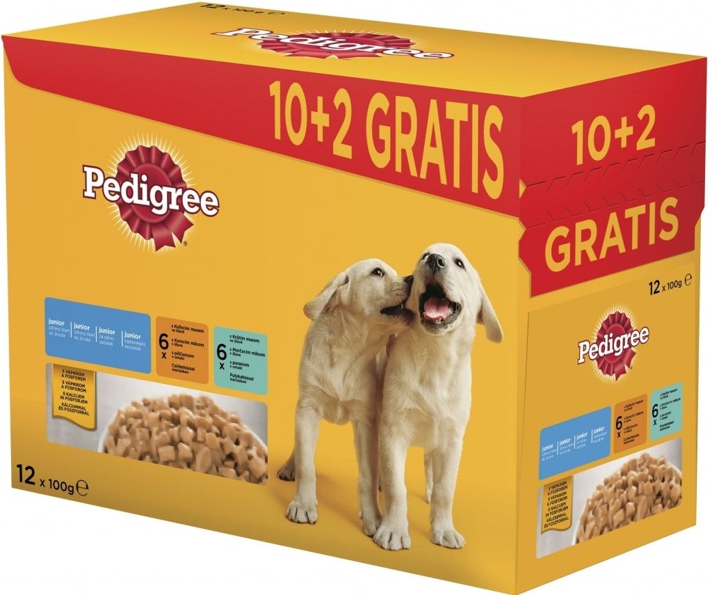 Pedigree Junior kapsičky 12 x 100 g