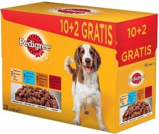 Pedigree Adult kapsičky 12 x 100 g