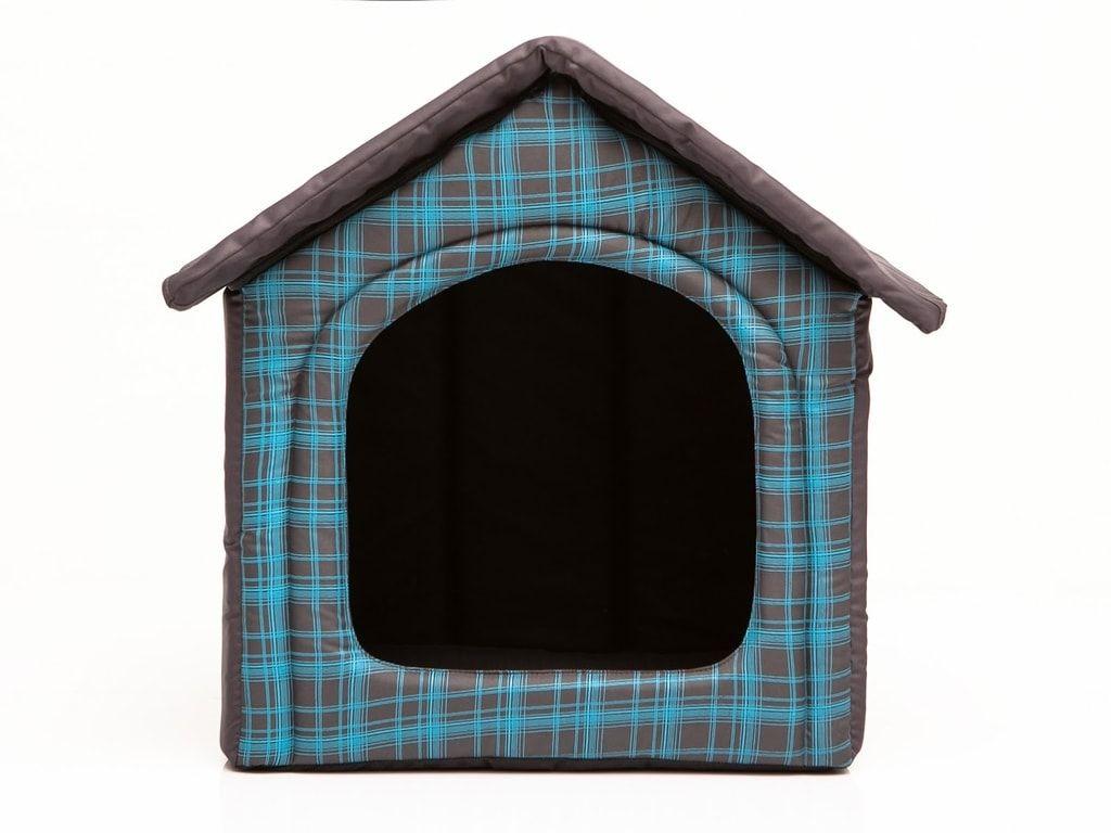 Domeček pro psa Reedog Grey Strips - M