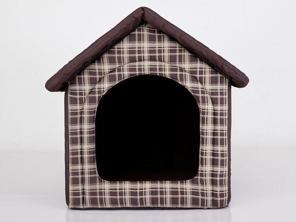 Domeček pro psa Reedog Brown Strips - M