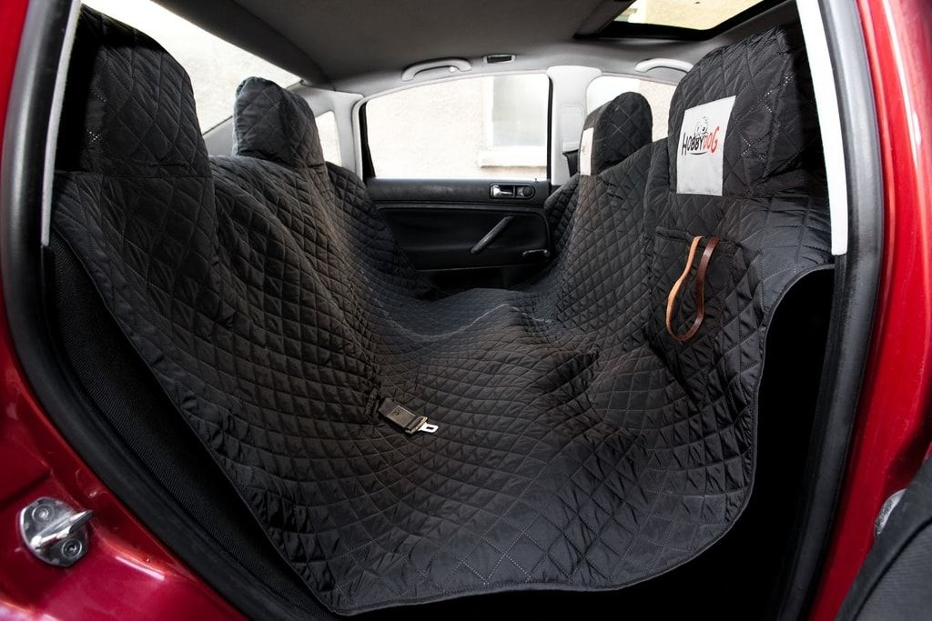 Reedog ochranný autopotah do auta pro psy - černý - M