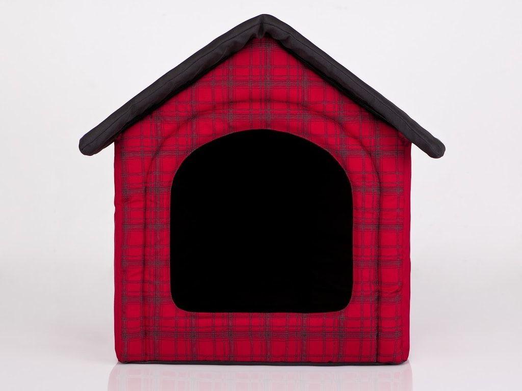 Domeček pro psa Reedog Red Strips - S
