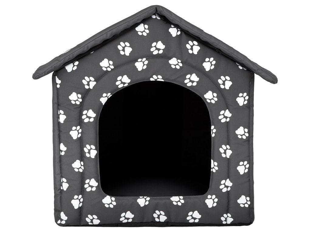 Domeček pro psa Reedog Grey Paw - S