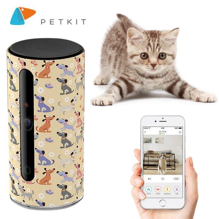 PetKit Mate Wifi kamera pro psy a kočky - Lucky Kitty