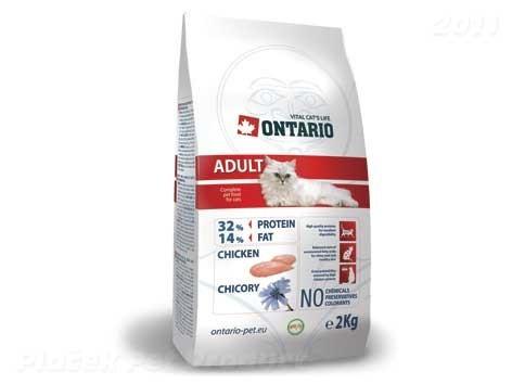 ONTARIO cat ADULT chicken 10kg - DOPRAVA ZDARMA