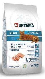 ONTARIO cat ADULT ocean/fish 10kg - DOPRAVA ZDARMA