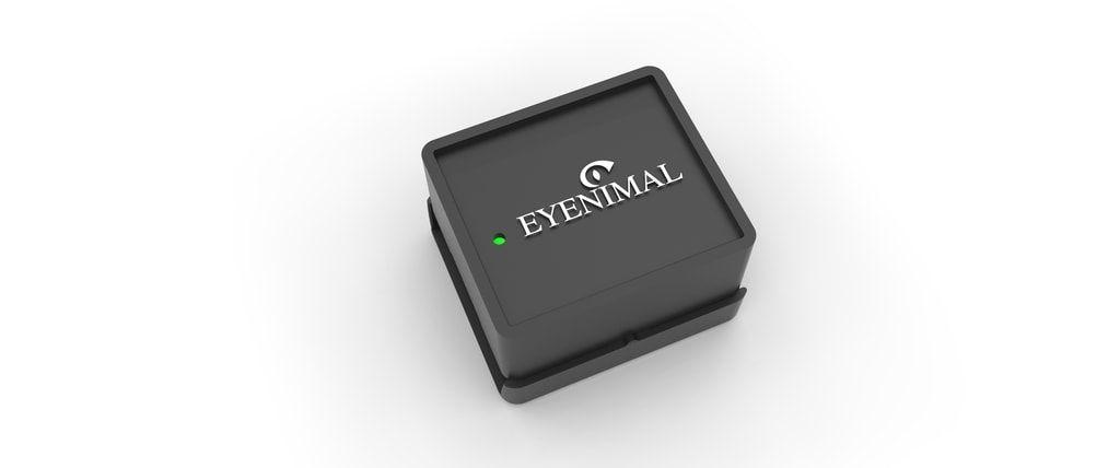 GPS obojek a monitor aktivity Eyenimal