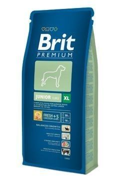 Granule pro psa Brit Premium Dog Junior XL 15kg