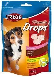 Trixie dog poch. drops JOGURT 200g