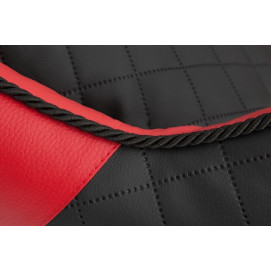 Pelíšek pro psa Reedog Black & Red Sofa