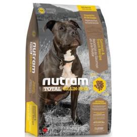 T25 Nutram Total Grain Free Salmon Trout Dog - bezobilné krmivo, losos a pstruh, pro psy 2,72 kg