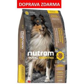 T23 Nutram Total GrainFree Turkey Chicken Duck, Dog - bezobilné krmivo, krůta, kuře a kachna, pro psy 13,6 kg
