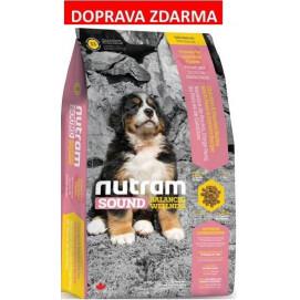 S3 Nutram Sound Puppy Large Breed - pro štěňata velkých plemen 13,6 kg