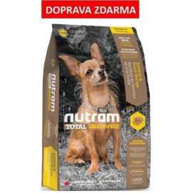 T28 Nutram Total Grain Free Salmon Trout Dog - bezobilné krmivo, losos a pstruh, pro psy malých plemen 6,8 kg