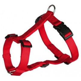 Postroj (trixie) CLASSIC červený 2,0/50-75cm