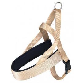 Postroj (trixie) PREMIUM comfort béžový 5/68-88cm