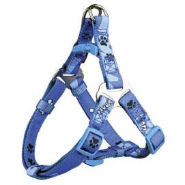 D-Ring Modern Art WOOF Postroj modrý  1cm/25-35cm
