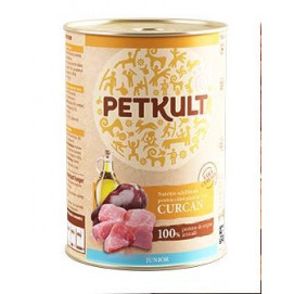 PETKULT dog konz. JUNIOR  krocan 400g