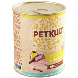 PETKULT dog konz. JUNIOR kuřecí 800g