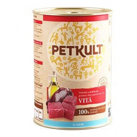 PETKULT dog konz. ADULT 400g Hovězí (5+1ks)