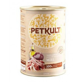 PETKULT dog konz. ADULT 400g Jehně (5+1ks)