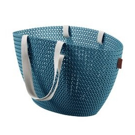 KNIT Emily bag Ocean Blue