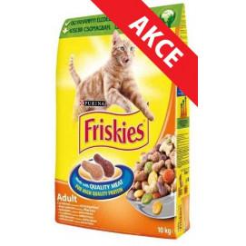 FRISKIES cat suché KUŘECÍ 10kg