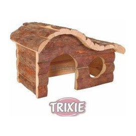 Trixie hlod. DŮM dřevěný HANNA křeček 26x16x15cm