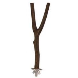 Trixie pták BIDLO dřevěné ¨Y¨ 1,5/20cm