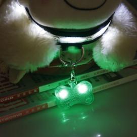 Reedog svítící přívěšek pro psy a kočky - kost