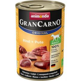 Animonda Gran Carno Hovězí + Krůta 800g