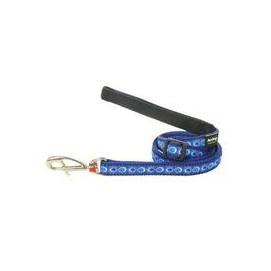 Vodítko RD COSMOS dark blue 1,2cm/1,8m