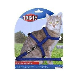 Postroj (trixie) CAT s vodítkem 22-42cm/1cm/1,25m
