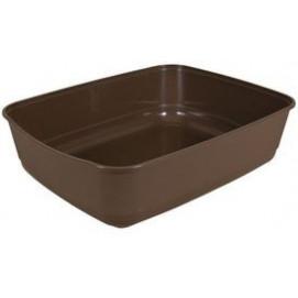 WC CLASSIC (bez okraje) 36*12*46cm HNĚDÉ