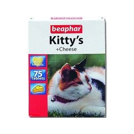 Beaphar cat poch. KITTYS CHEESE 180tbl.