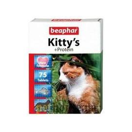 Beaphar cat poch. KITTYS PROTEIN FISCH 75tbl