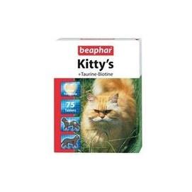 Beaphar cat poch. KITTYS TAURINE/BIOTINE 75tbl