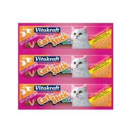 Vitakraft CAT stick MINI 3ks KRŮTA + JEHNĚ