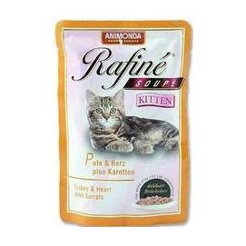 Animonda cat kapsa Rafiné Kitten krůta/srdce 100g