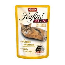 ANIMONDA cat kapsa RAFINÉ geflügel/currysauce 100g