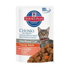 Hills cat kapsa STERILISED/lachs 85g