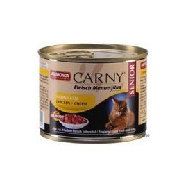ANIMONDA cat konz. CARNY 200g SENIOR huhn/käse