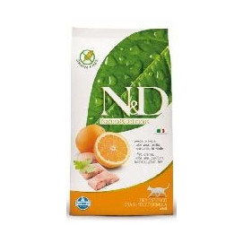 N&D grain free cat ADULT FISH/orange 1,5kg